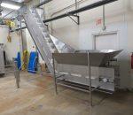 Stainless Steel Hopper Conveyor