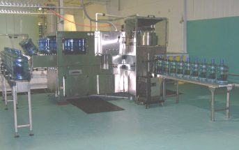 Equipment Assets of Water Bottling Operation