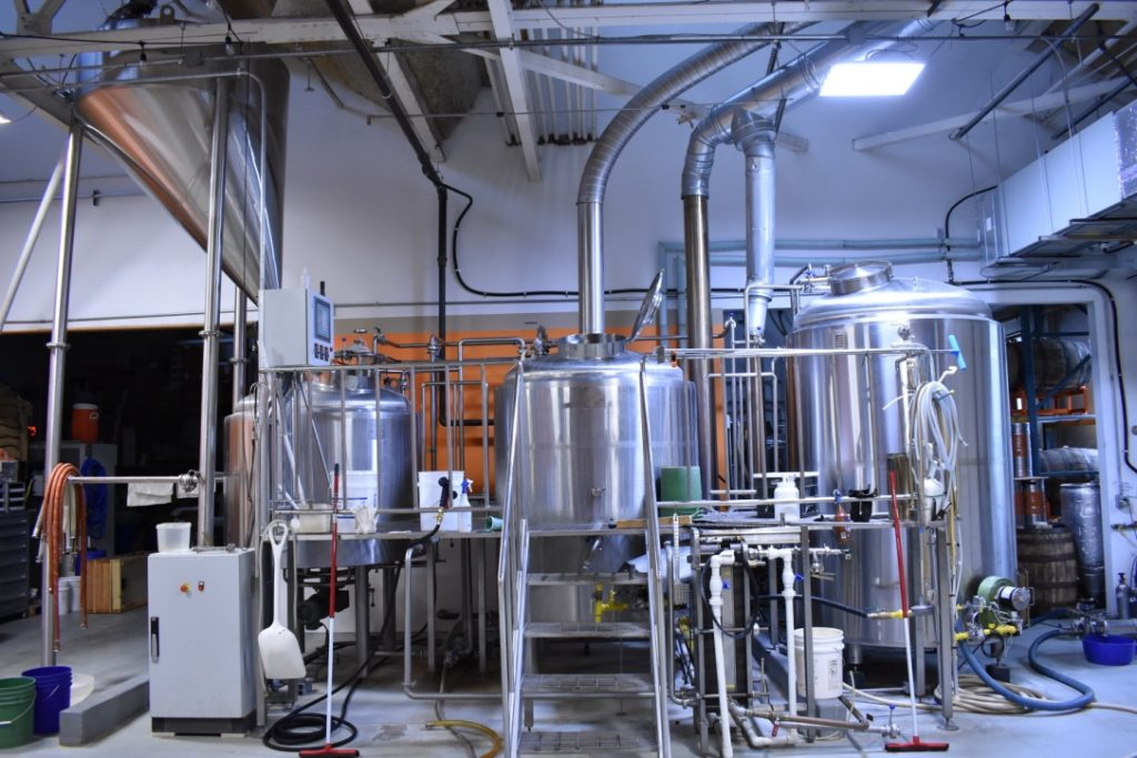 Complete 10 BBL Brewhouse   Brewery Equipment   New Mill Capital