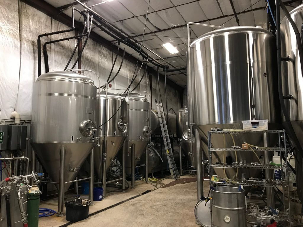 Blue Pants Brewery   15 BBL Microbrewery   New Mill Capital
