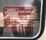 (2) BOC & Airco Kwik Freeze Stand Alone Spiral Freezers