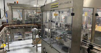 2017 Glass Bottling Line